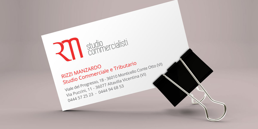 Rizzi Manzardo Business Card