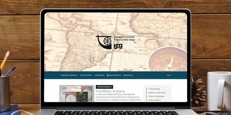 Sito web associazione Topografi