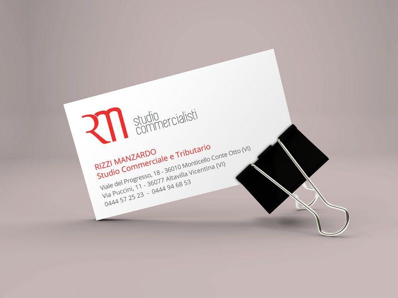Rizzi Manzardo Business Card