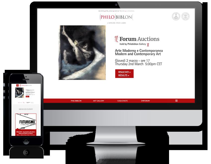 Philobiblon sito web