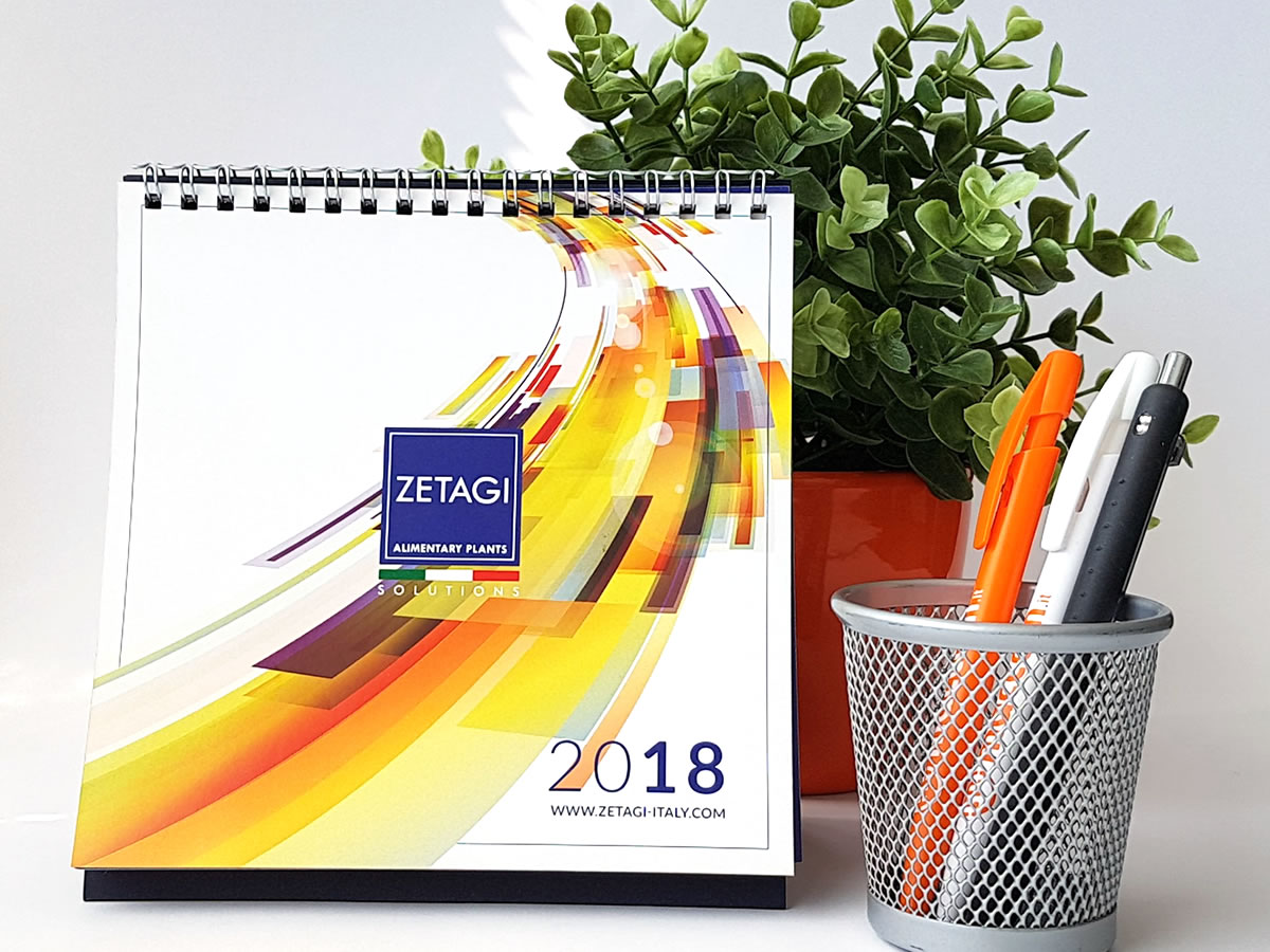 Zetagi Impianti Calendario personalizzato 2018